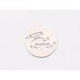 P3534-Swarovski Elements 2088/I Denim Blue Dorado Z Foiled 7mm-1buc