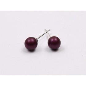 0224-Swarovki Elements 2088 Scarlet Foiled 4MM-1buc