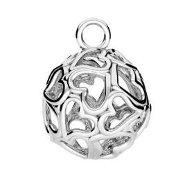 Pandant Pear cu ceralun si cristale Swarovski-Crystal