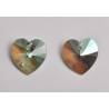 P3498-Swarovski Elements 6228 Erinite Shimmer 14mm