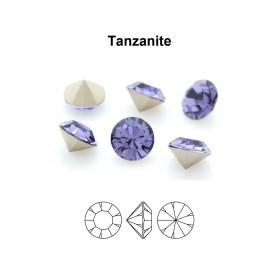 P3491-Swarovski Elements 6228 Black Diamond Shimmer 14mm