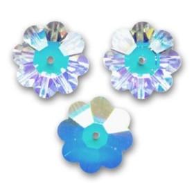 P1438-Swarovski Elements 6628 Crystal Aurore Boreale 16mm