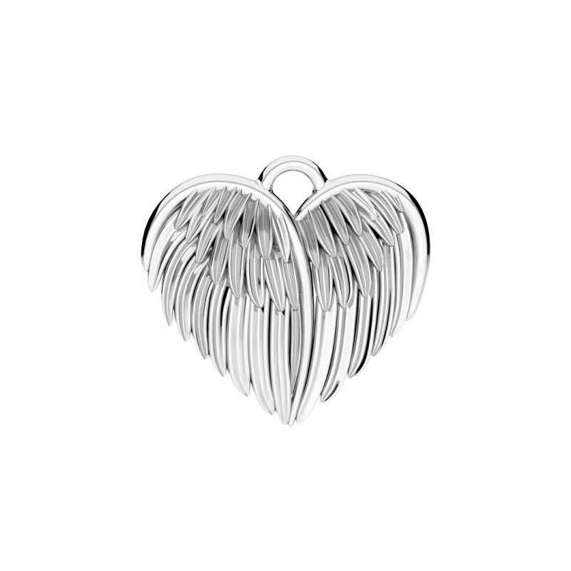G1893-Mouse pendant Argint 925 12mm-1buc