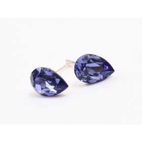 D395-Cutiuta set roz cu model floral si fundita-1 buc