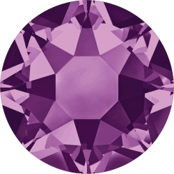 0272-SWAROVSKI ELEMENTS 2078 Amethyst S-Foiled Hotfix SS16-1buc