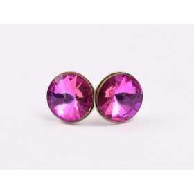 0281-SWAROVSKI ELEMENTS 2078 Blue Zircon Silver-Foiled Hotfix SS16-1buc