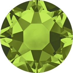 0292-SWAROVSKI ELEMENTS 2078 Olivine S-Foiled Hotfix SS16-1buc