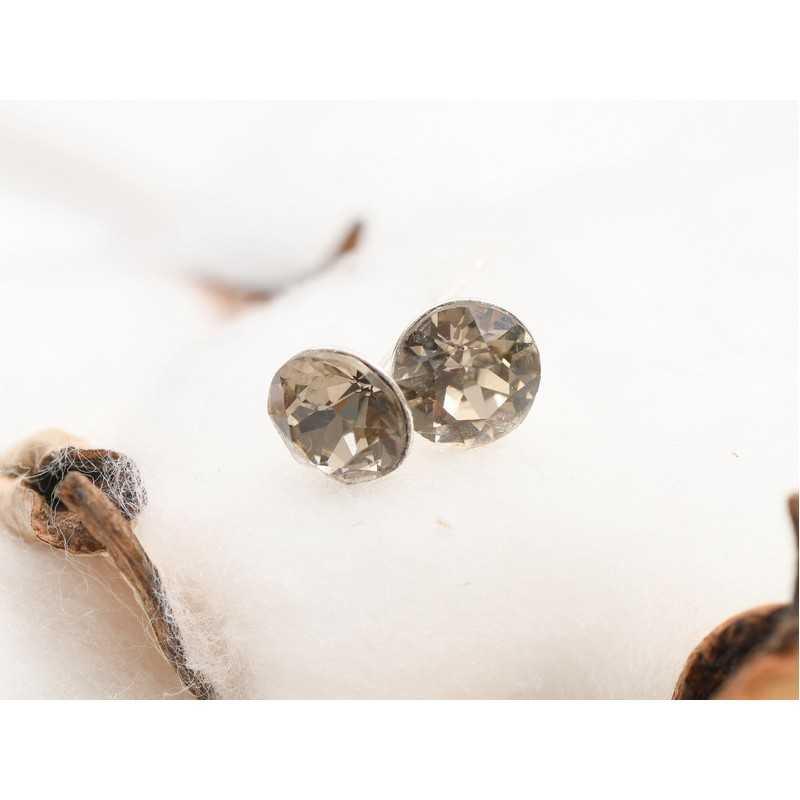 0298-SWAROVSKI ELEMENTS 2038 Light Sapphire Shimmer S-Foiled Hotfix SS10-1buc