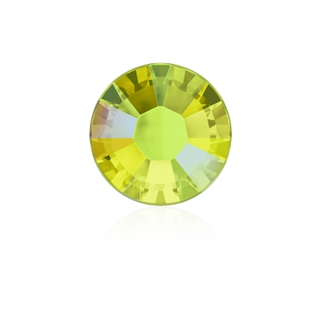 0301-SWAROVSKI ELEMENTS 2038 Citrine Shimmer S-Foiled Hotfix SS10-1buc