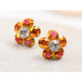 0302-SWAROVSKI ELEMENTS 2038 Black Diamond Shimmer S-Foiled Hotfix SS10-1buc