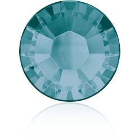 0310-SWAROVSKI ELEMENTS 2038 Blue zircon S-Foiled Hotfix SS10-1buc