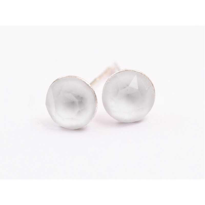 0320-SWAROVSKI ELEMENTS 2038 Chalkwhite S-Foiled Hotfix SS10-1buc