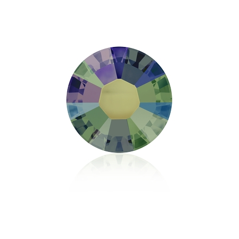 0345-SWAROVSKI ELEMENTS 2038 Crystal Paradise Shine S-Foiled Hotfix SS10-1buc