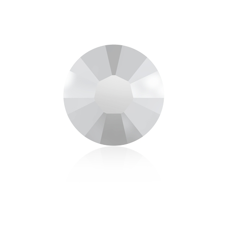 0354-SWAROVSKI ELEMENTS 2038 Chalkwhite S-Foiled Hotfix SS6-1buc