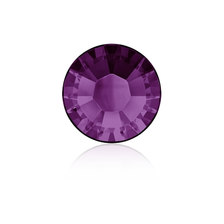 0366-SWAROVSKI ELEMENTS 2038 Amethyst S-Foiled Hotfix SS6-1buc