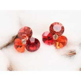 0390-SWAROVSKI ELEMENTS 2038 Sunflower S-Foiled Hotfix SS6-1buc