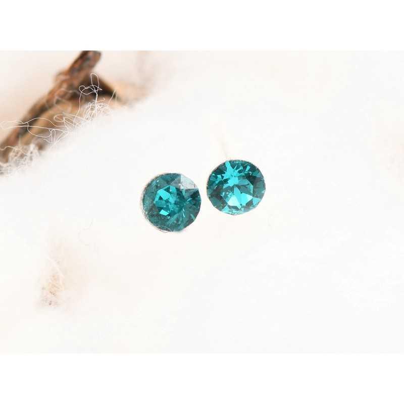 0438-SWAROVSKI ELEMENTS 2797 Crystal Golden Shadow Hotfix 8x4MM-1buc