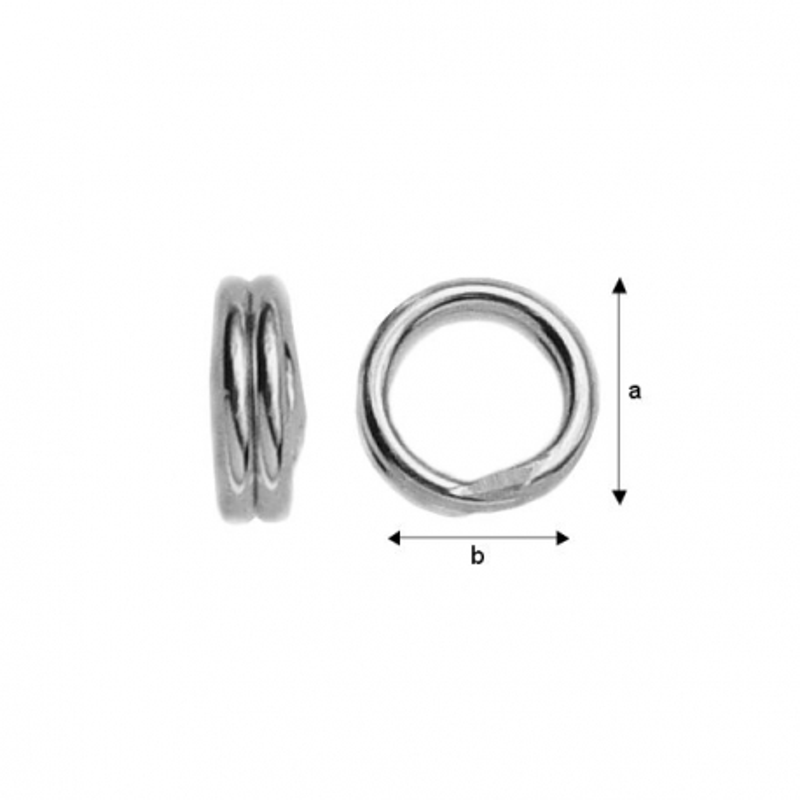 G0216-Zale duble 6mm 1 buc