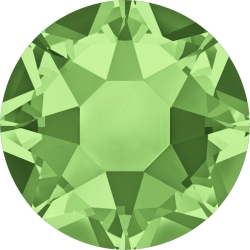 0457-SWAROVSKI ELEMENTS 2078 Peridot S-foiled Hotfix SS16 4MM-1buc