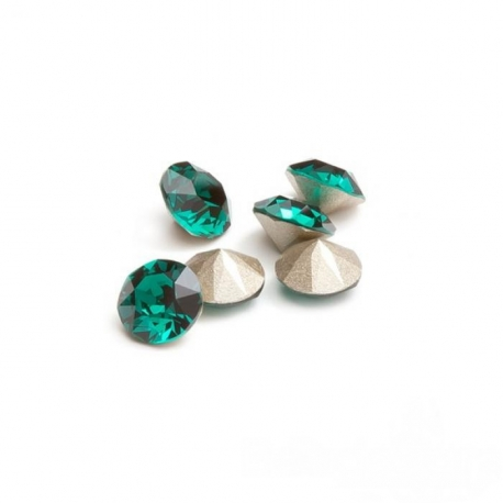 P1934-Swarovski Elements 1088 Emerald Foiled SS29 -6mm