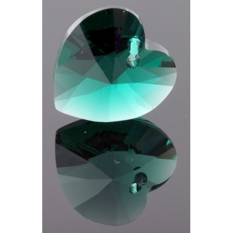 P0678-Swarovski Elements 6228 Emerald 10mm-1 buc