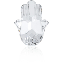 P3626-SWAROVSKI ELEMENTS 4778 Crystal Foiled Fatima Hand 18MM-1buc