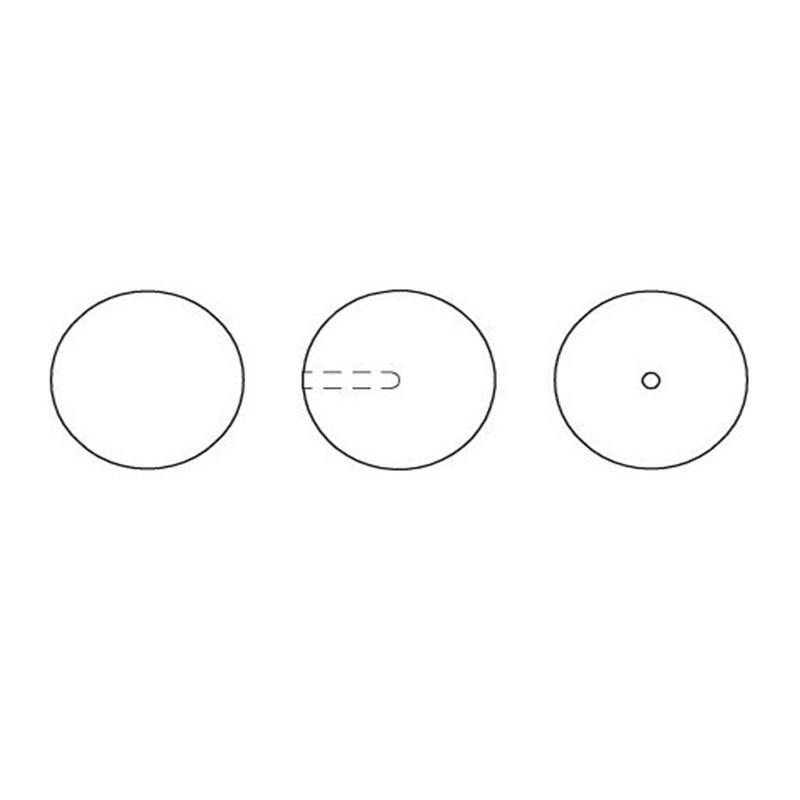 P1261-Swarovski Elements 1088 Crystal Moonlight Foiled SS34 7mm