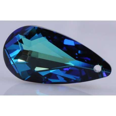 P0762-Swarovski Elements 6100 Crystal Bermuda Blue 24x12mm-1 buc