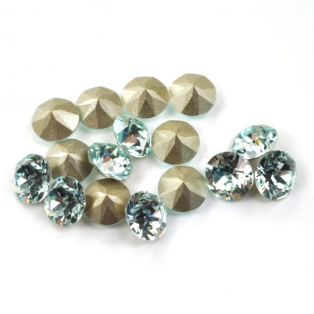 P1262-Swarovski Elements 1088 Light Azore Foiled SS34 7mm 1 buc