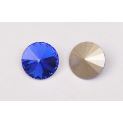 P3635-SWAROVSKI ELEMENTS 1122 Majestic Blue Foiled 12MM-1buc