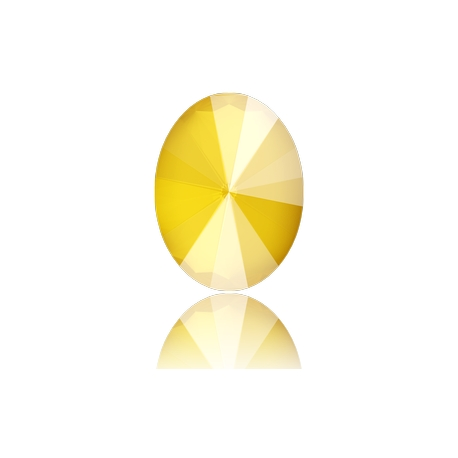 0585-SWAROVKI ELEMENTS 4122 Crystal Buttercup Unfoiled 8x6MM