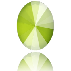 P3642-SWAROVKI ELEMENTS 4122 Crystal Lime Unfoiled 14x10.50MM