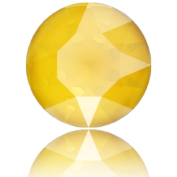P3645-SWAROVSKI ELEMENTS 1088 Crystal Buttercup Unfoiled SS39 8MM