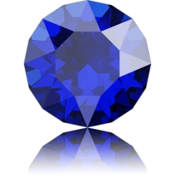 P3649-SWAROVSKI ELEMENTS 1088 Majestic Blue foiled SS29 6MM-1buc