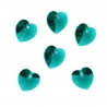 P0675-Swarovski Elements 6228 Blue Zircon 14mm-1 buc
