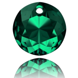 P3654-SWAROVSKI ELEMENTS 6430 Emerald 14MM