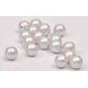 0885-SWAROVSKI ELEMENTS 5810 Crystal Iridescent Dove Grey Pearl 10MM