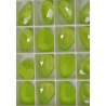 P3701-SWAROVSKI ELEMENTS 4320 Crystal Lime Unfoiled 14x10MM