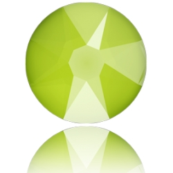 P3712-SWAROVSKI ELEMENTS 2088 Crystal Lime Unfoiled SS30-6.50MM