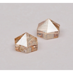P3719-SWAROVSKI ELEMENTS 5060 Crystal Golden Shadow 5.5mm