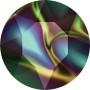2319-Swarovski Elements 6028 Crystal Aurore Boreale 8mm 1 buc