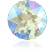 P3782-Swarovski Elements 1088 Light Sapphire Shimmer Foiled SS29 -6mm