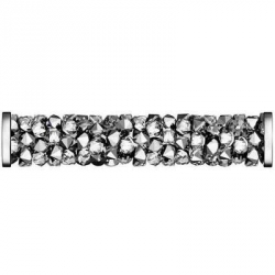 0899-SWAROVSKI ELEMENTS 5950 Crystal Light Chrome 30MM Steel