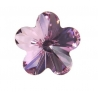 P1620-Swarovski Elements 4744 Light Rose Foiled 10mm 1 buc