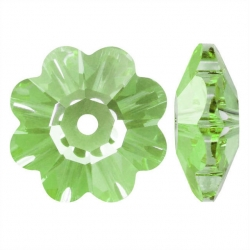 P3808-Swarovski Elements 3700 Fern green Unfoiled 14mm 1 buc