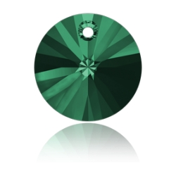 P3809-SWAROVSKI ELEMENTS 6428 Emerald 12mm-1 buc