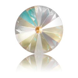 P3830-SWAROVSKI ELEMENTS 1122 Light Grey DeLite 12mm-1buc