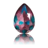 P2128-Swarovski Elements 4320 Crystal Burgundy DeLite Unfoiled 14x10mm
