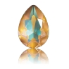 P2135-Swarovski Elements 4320 Crystal Ochre DeLite Unfoiled 14x10mm