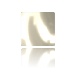 2494-Swarovski Cabochon 2408/4 Crystal White Pearl Unfoiled Hotfix 8 mm -1buc